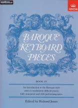 Jones - Baroque Keyboard Pieces Vol.iv