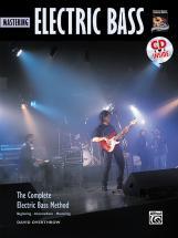 Overthrow David - Mastering Electric Bass + Cd - Bass Guitar
