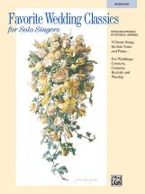 Liebergen Patrick - Favorite Wedding Classics - Medium And High Voice (par 10 Minimum)