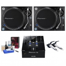 Pioneer Dj Pack Plx-1000 + Djm S3 + Ortofon Twin Scratch + Pnmdj10