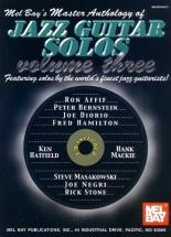 Master Anthology Of Jazz Guitar Solos, Volume 3 + Cd - Guitar
