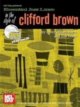 Brown Clifford - Essential Jazz Lines In The Style Of + Cd - B Flat Instruments