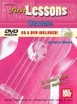 Moore Jerry - First Lessons Ukulele + Cd + Dvd - Ukulele