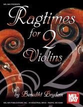 Brydern Benedikt - Ragtimes For Two Violins - Violin