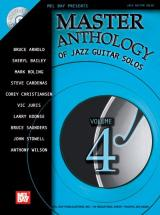 Master Anthology Of Jazz Guitar Solos, Volume 4 + Cd - Guitar