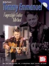 Emmanuel Tommyfingerstyle Guitar Method + Cd - Guitar