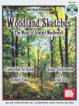 Yates Richard - Woodland Sketches + Cd - Guitar