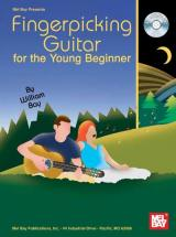 Bay William - Fingerpicking Guitar For The Young Beginner + Cd - Guitar