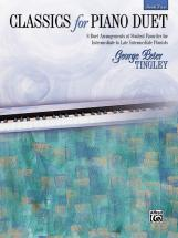 Tingley George Peter - Classics For Piano Duet Book 2 - Piano Duet