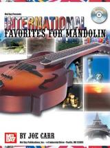 Carr Joe - International Favorites For Mandolin + Cd - Mandolin