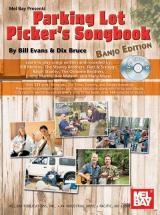 Bruce Dix - Parking Lot Picker's Songbook - Banjo + Cd - Banjo 5 String