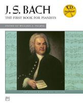 Bach Johann Sebastian - First Book For Pianists + Cd - Piano