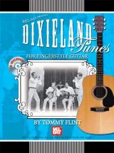 Flint Tommy - Dixieland Tunes For Fingerstyle Guitar + Cd - Guitar