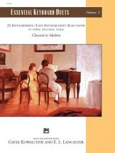 Kowalchyk And Lancaster - Essential Keyboard Duets Volume 2 - Piano Duet