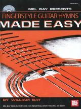 Bay William - Fingerstyle Guitar Hymns Made Easy + Cd - Guitar