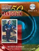 Kaufman Steve - Favorite 50 Mandolin, Tunes A-f + Cd - Mandolin