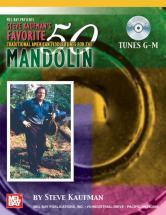 Kaufman Steve - Favorite 50 Mandolin, Tunes G-m + Cd - Mandolin