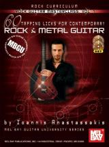 Anastassakis Ioannis - Rock Guitar Masterclass Vol. 1, 60 Tapping Licks + Cd + Dvd - Guitar