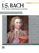 Bach Johann Sebastian - Well-tempered Clavier, Volume 1 - Piano Solo