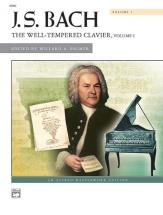 Bach Johann Sebastian - Well Tempered Clavier 1 - Piano Solo