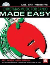 Nickerson Ross - Christmas Music For Banjo Made Easy + Cd - Banjo