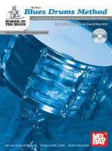 Barrett David - Blues Drums Method + Cd - Drum Set