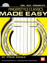 Eckels Steve - Fingerstyle Classics Made Easy + Cd - Guitar