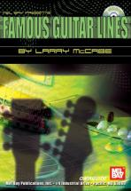 Mccabe Larry - Famous Guitar Lines Qwikguide + Cd - Guitar