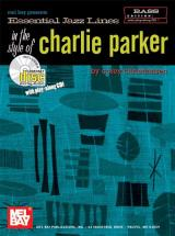 Christiansen Cory - Essential Jazz Lines In The Style Of Charlie Parker, Bass Edition + Cd - Bass