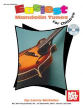 Mccabe Larry - Easiest Mandolin Tunes For Children + Cd - Mandolin