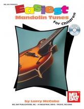 Mccabe Larry - Easiest Mandolin Tunes For Children + Cd - Mandolin