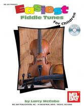 Mccabe Larry - Easiest Fiddle Tunes For Children + Cd - Fiddle