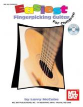 Mccabe Larry - Easiest Fingerpicking Guitar For Children + Cd - Guitar
