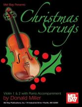 Miller Donald - Christmas Strings: Violin 1 And 2 With Piano Accompaniment - Violin
