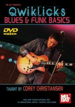 Christiansen Cory - Qwiklicks Blues And Funk Basics - Guitar - DVD
