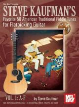 Kaufman Steve - Favorite 50 Flatpicking Guitar, Vol. 1 A-f + Cd - Guitar