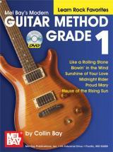 Bay Collin - Modern Guitar Method Grade 1, Learn Rock Favorites + Dvd - Guitar
