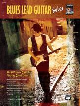 Riker Wayne - Blues Lead Guitar Solos + Cd - Guitar