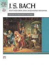 Bach Johann Sebastian - Anna Magdalena Notebook + Cd - Piano Solo