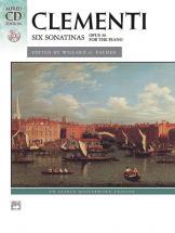 Clementi Muzio - Six Sonatinas + Cd - Piano Solo