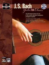 Basix Bach For Guitar + Cd - Guitar