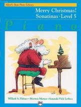 Merry Christmas 5-sonatinas - Piano Solo