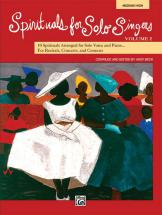 - Spirituals Solo Singers Vol2 + Cd - Medium And High Voice