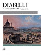 Diabelli Anton - Eleven Sonatinas Op 151 And Op 168 - Piano