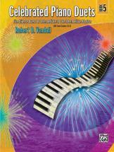 Vandall Robert D. - Celebrated Piano Duets Book 5 - Piano Duet