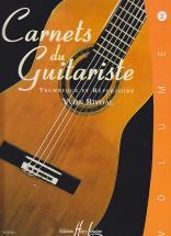Rivoal Yvon - Carnets Du Guitariste Vol.2