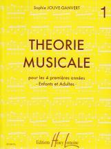 Jouve-ganvert Sophie - Théorie Musicale Vol.1