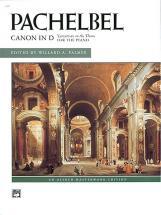 Pachelbel Johann - Canon In D - Piano Solo