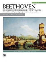 Beethoven Ludwig Van - Complete Piano Sonatas Volume 2 - Piano Solo