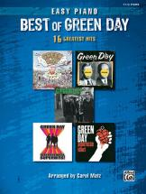 Green Day - Best Of - Piano Solo